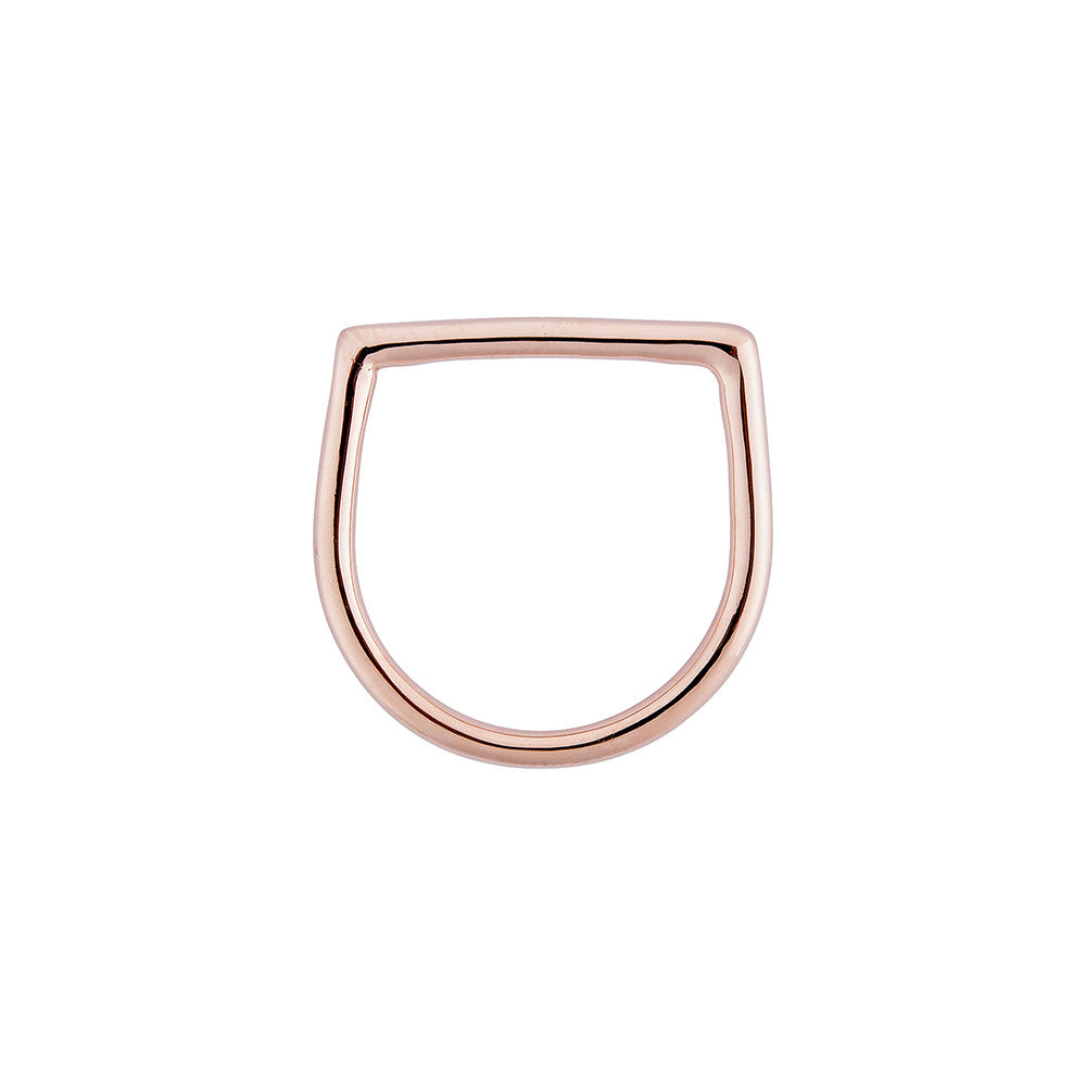 Line Ring - Pinkgold