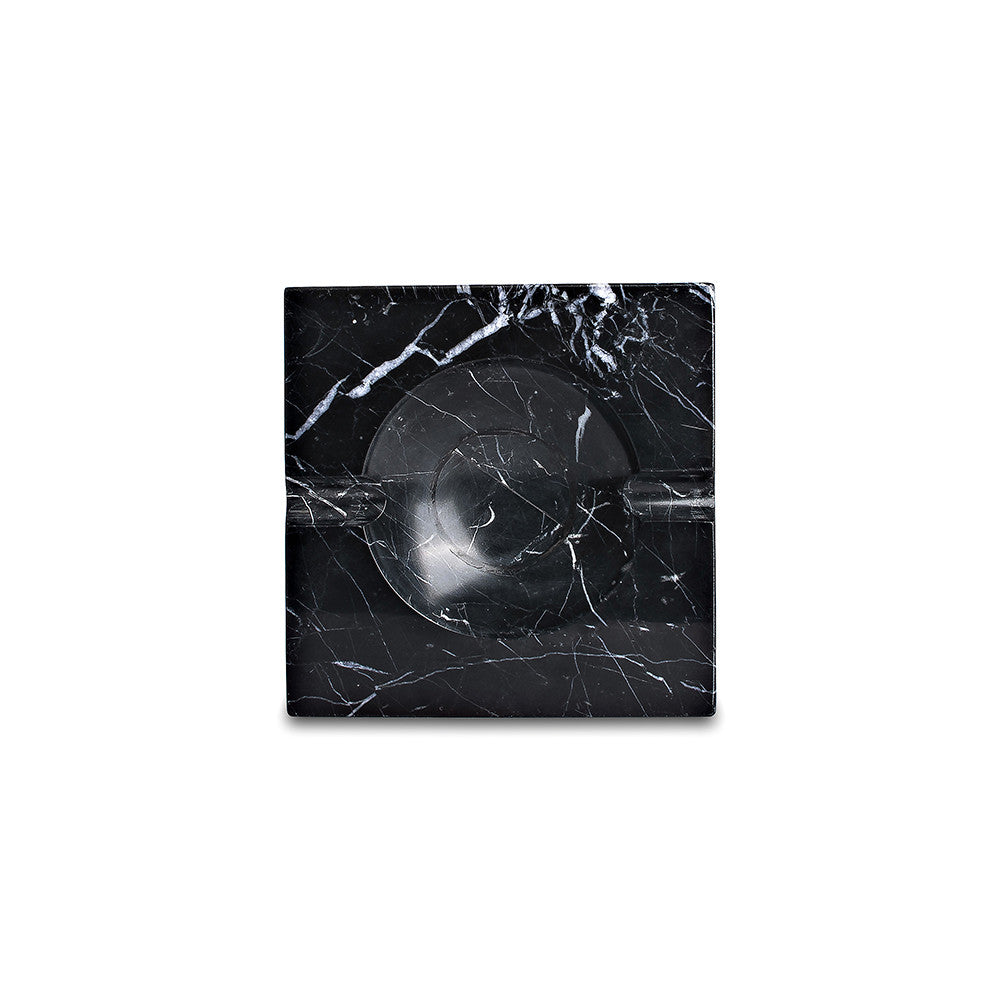Ashtray - Black Marquina