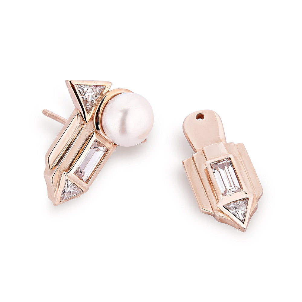 Babylon Earrings - Pinkgold