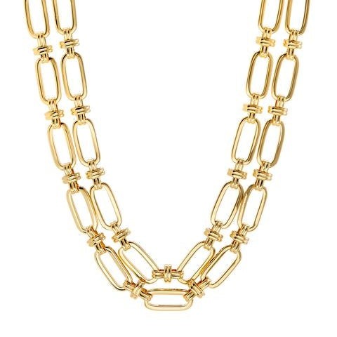 Isabella Statement Necklace - Gold