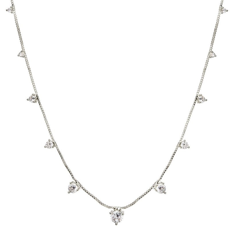 ORIEN CHARM NECKLACE – SILVER