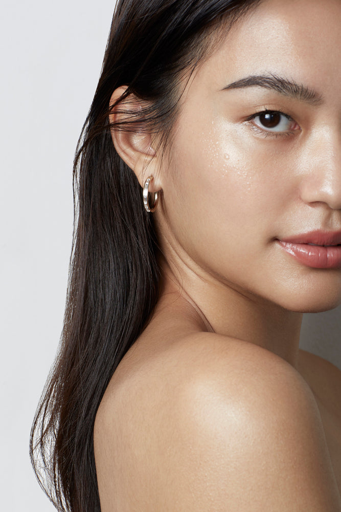 WAREE HOOP EARRINGS – GOLD