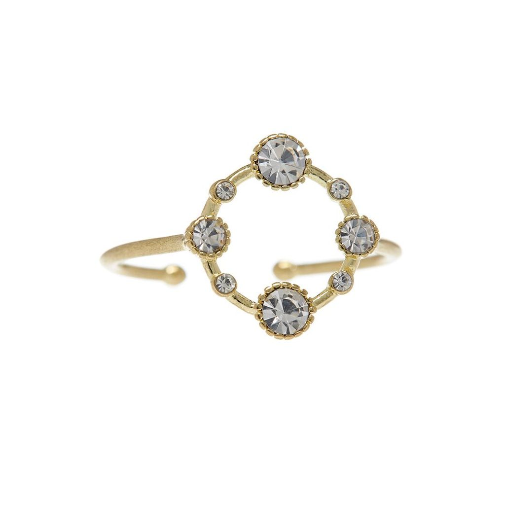 BEZEL DIAMOND RING – GOLD