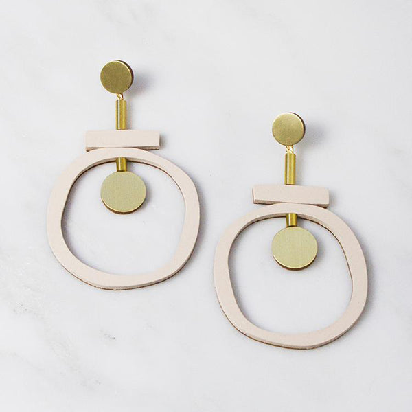 Jean II Earrings - Blush