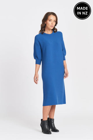 3/4 Tulip Sleeve Dress Womens