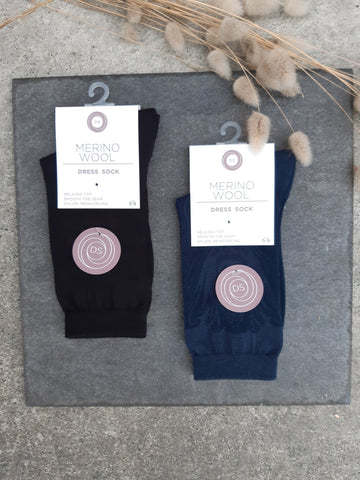 Womens Merino Big Fancy Flower Sock Accessories