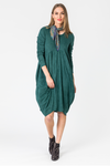 Cord Bubble Dress Womens