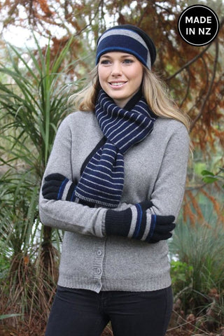Accent Stripe Scarf Accessories
