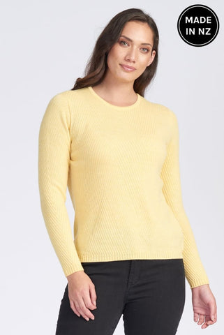 Angle Rib Jumper Womens