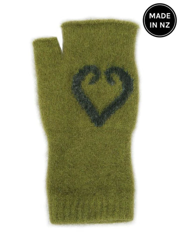 Aroha Fingerless Mittens Accessories