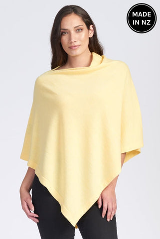 Assymetric Poncho Womens