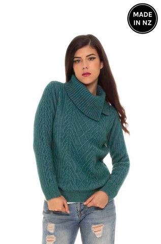 Cable Jumper Womens