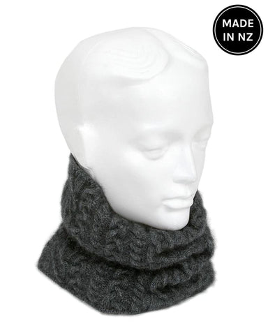 Cable Neck Gaiter And Headband Accessories