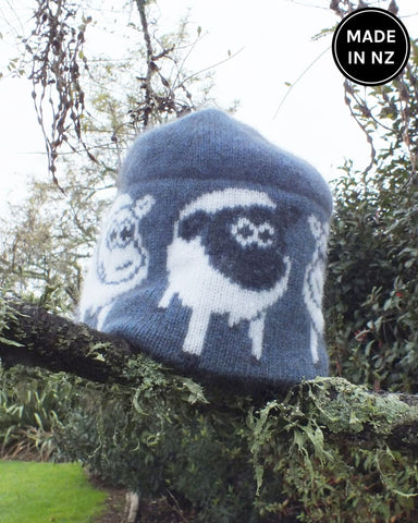 Cosy Kiwi Little Lambie Beanie Kids