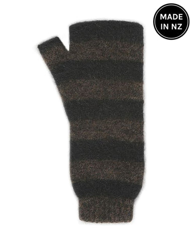 Directional Stripe Mittens Accessories