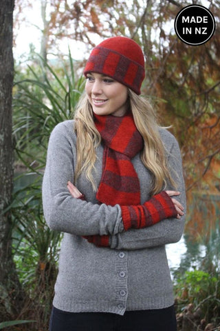 Directional Stripe Scarf Accessories