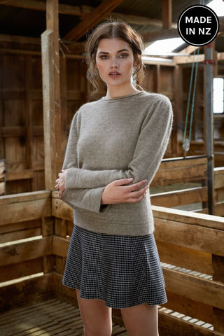 Float Stitch Sweater Womens