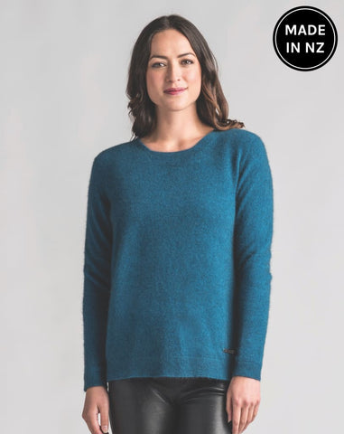 Relaxed Sweater Womens