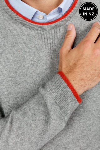 Sports Tip Sweater Mens