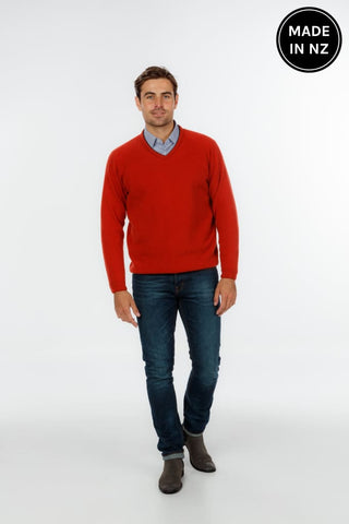 Sports Vee Sweater Mens