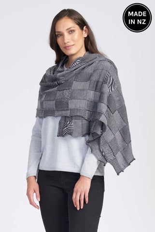 Textured Wrap Womens