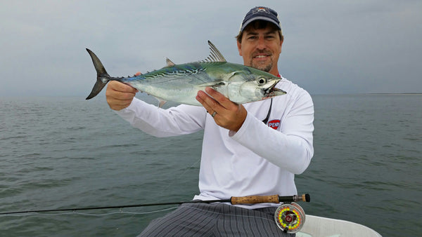 fly fishing for albacore in NC