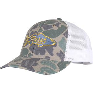 Retro Redfish Trucker Hat