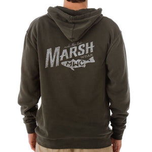 Sunrise Marsh Hooded Pullover Sweatshirt