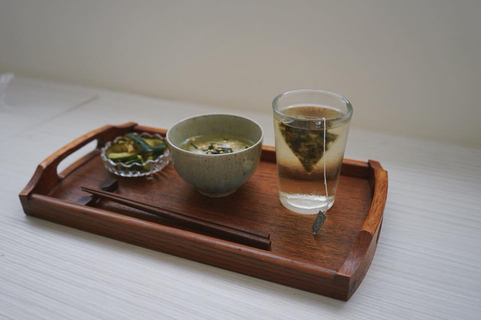 Esteemed Recipe - Fire Roasted Oolong Ochazuke お茶漬け