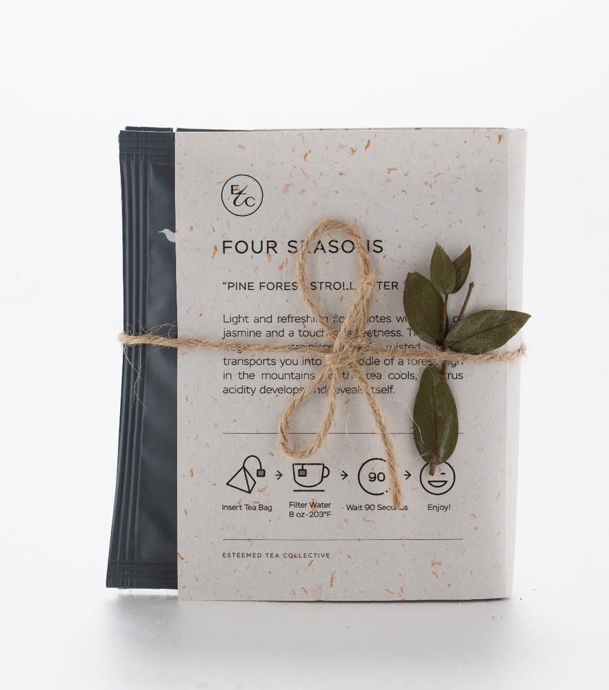 Four Tea Bag Tasting Set