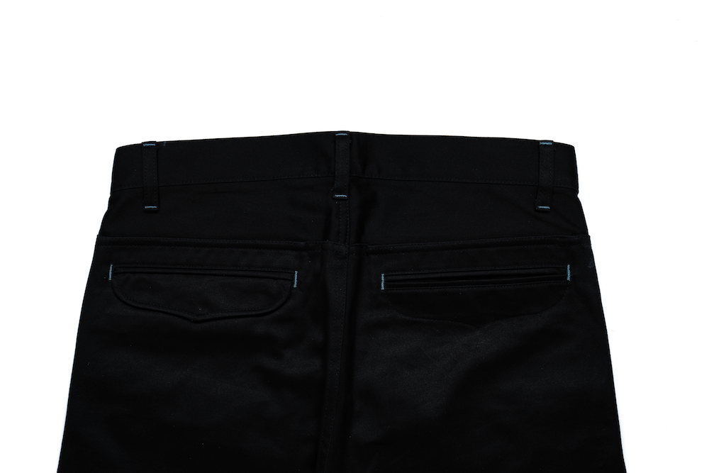 Black Weapon Cuff Pants