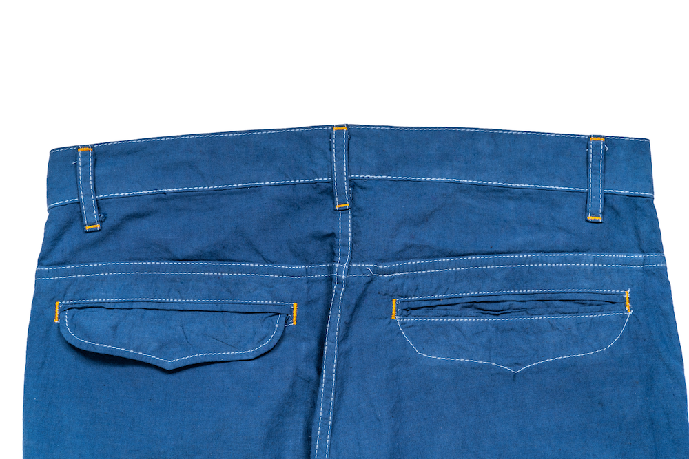 Bleu Chambray Pants