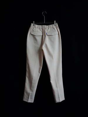Relaxed Center-Stitched Drawstring Trousers