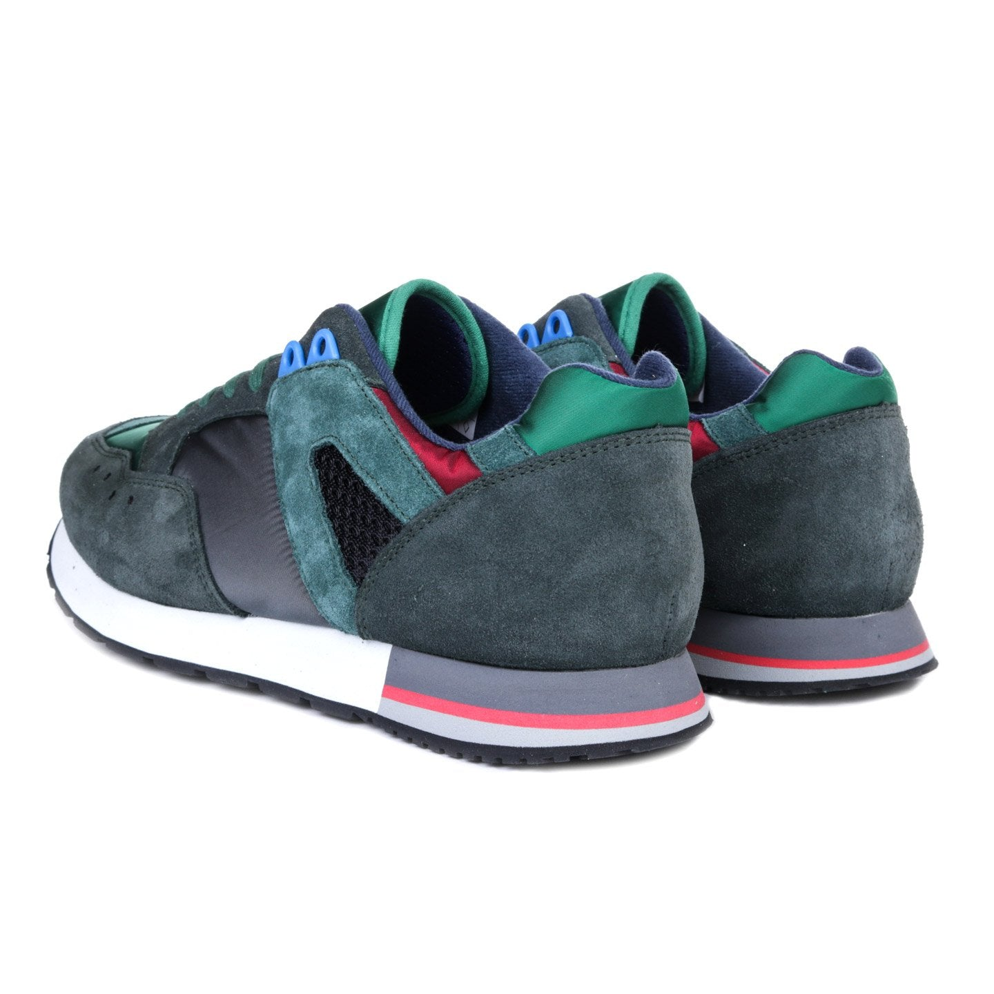 ROF French Trainers Charcoal Green
