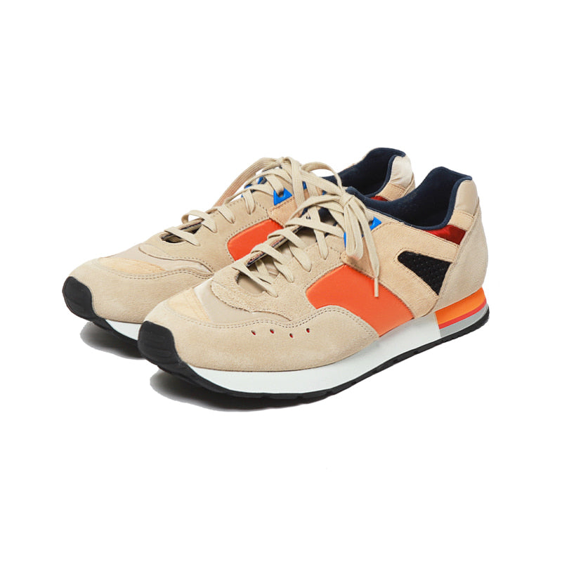 ROF French Trainers Orange Beige