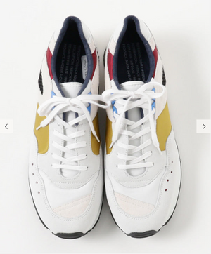 ROF French Trainers Yellow White