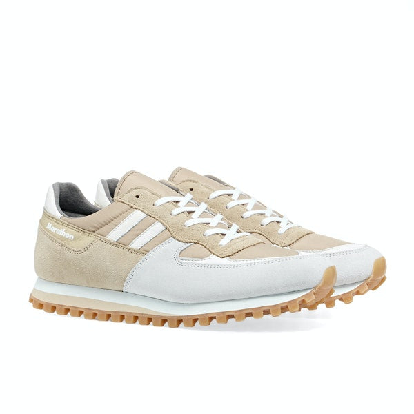 ZDA Marathon Trainers Light Beige White & Honey