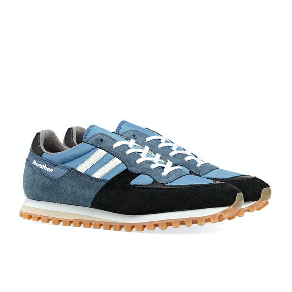ZDA Marathon Trainers Saxe Black Honey