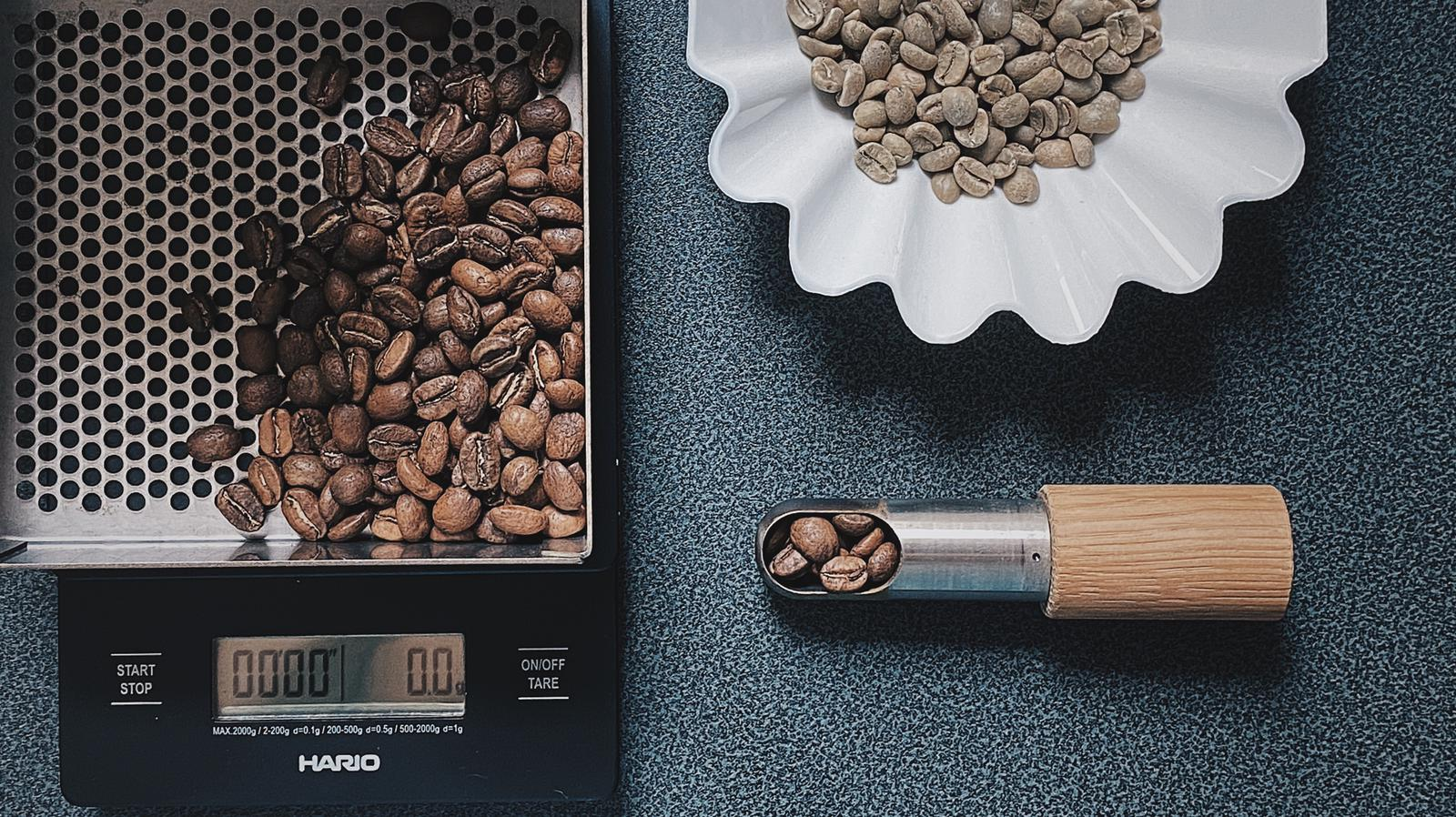 shouten x fivefingermountain coffee Native Blend