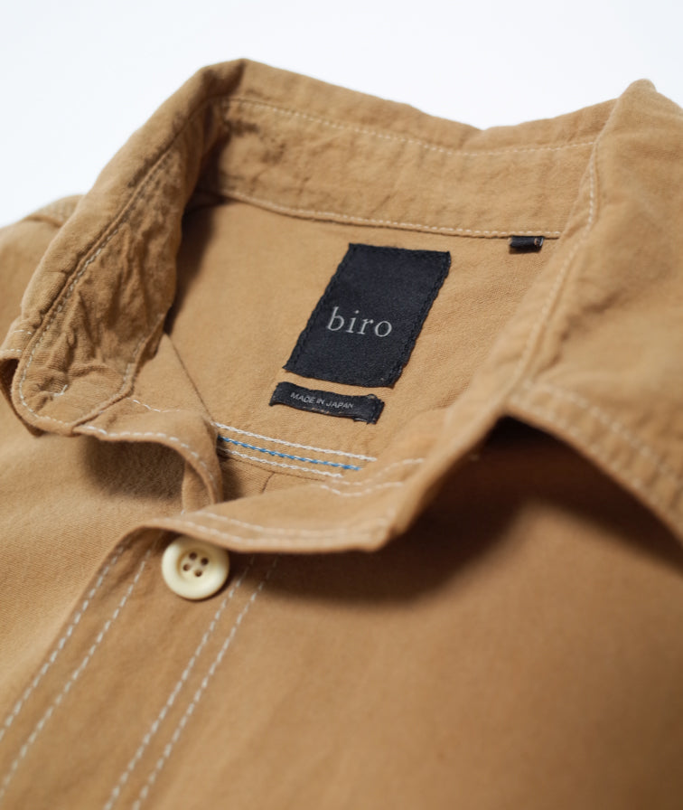 Brown Cotton Shirt
