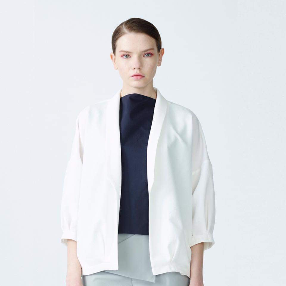 TNS-514-2 Emilie jacket white