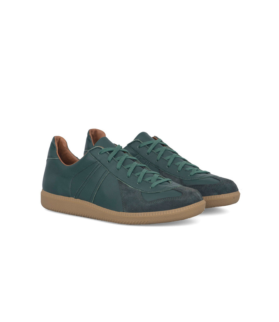 ROF German Trainers Dark Green