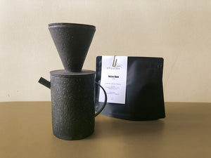Takashi Endo and Coffee Set