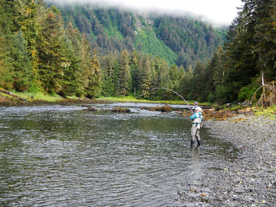 Women's Flyfishing Alaska