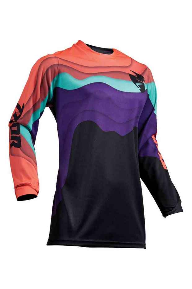 Coral Pulse Depths Women's Jersey
