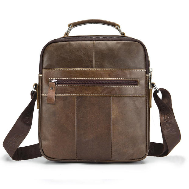 Male Leather Crossbody Shoulder Bag