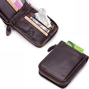 Design Brand Men Wallet High Quality Leather RFID 110655