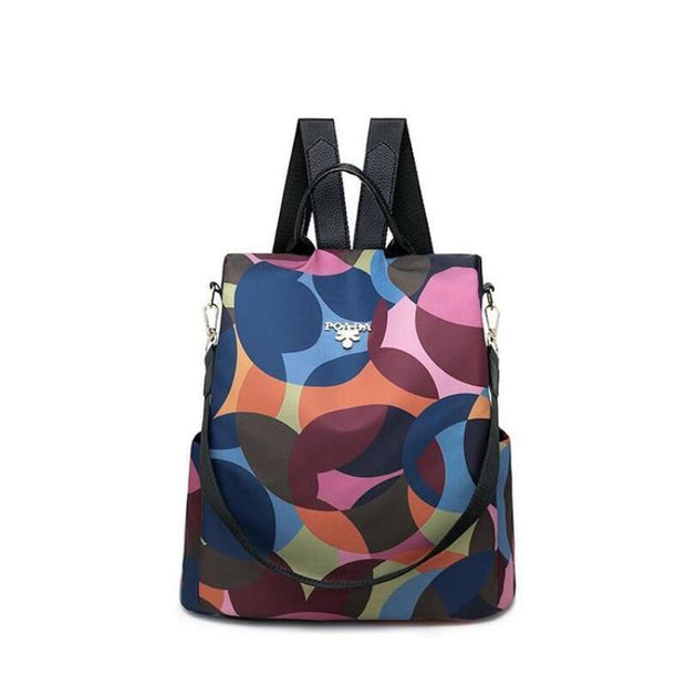 Oxford Printing Design Anti Theft Backpack (buy two get one 35%)