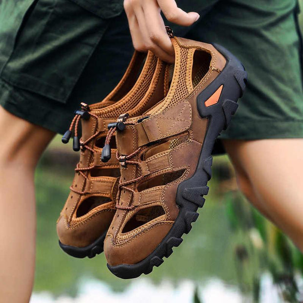 Men's spring and summer sandals, men's new  sandals, men's casual beach shoes