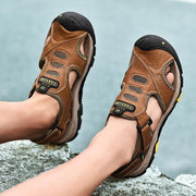 Men's leather outdoor men's shoes hot style sandals in summer